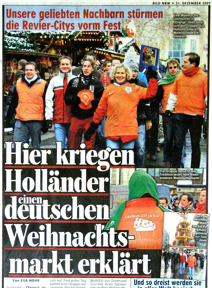 Nachbarn aus Holland lieben Weihnachtsmarkt in Dortmund