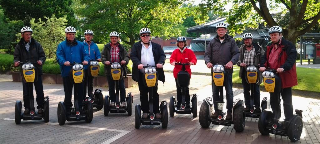 Paderborner auf Besuch in Dortmund