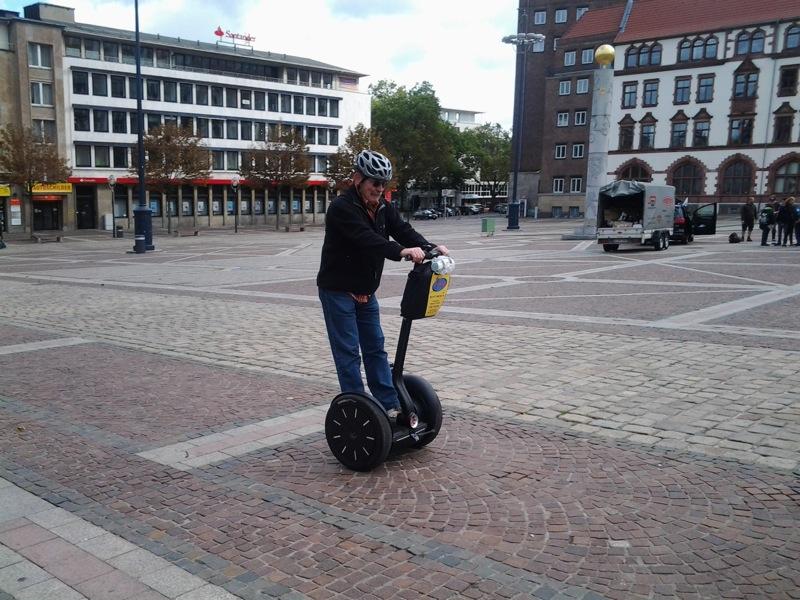Segway-Tour Stadtkernobst Anja Hecker-Wolf