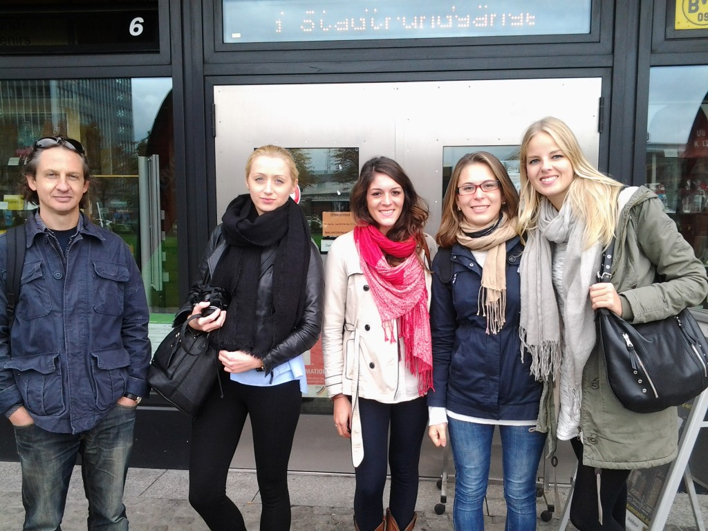 Students-from-Netherlands-Dortmund-Stadtrundgang-U